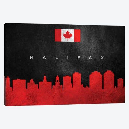 Halifax Canada Skyline Canvas Print #ABV220} by Adrian Baldovino Canvas Art Print