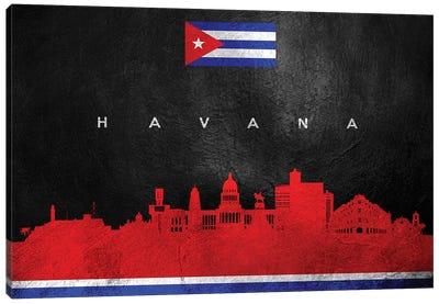 Havana Cuba Skyline Canvas Art Print