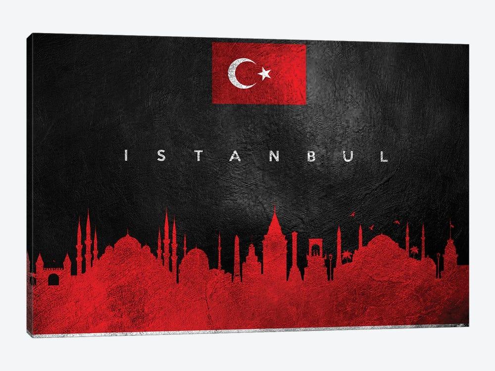 Istanbul Turkey Skyline II by Adrian Baldovino 1-piece Art Print