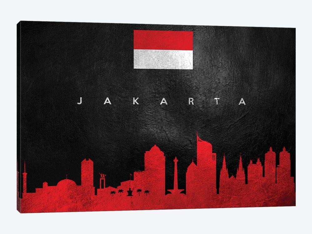 Jakarta Indonesia Skyline by Adrian Baldovino 1-piece Canvas Art