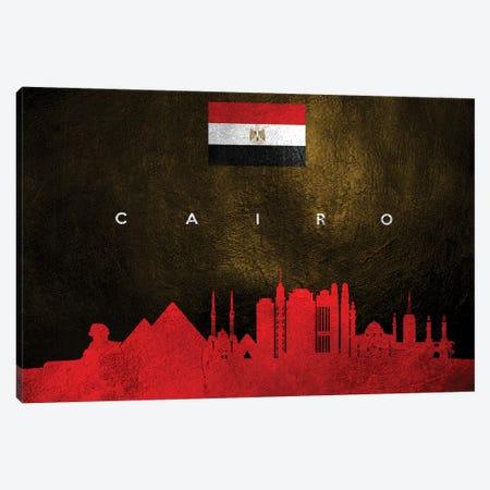 Cairo Egypt Skyline Canvas Print #ABV22} by Adrian Baldovino Canvas Wall Art