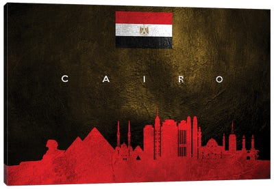 Cairo Egypt Skyline Canvas Art Print