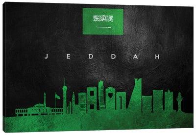 Jeddah Saudi Arabia Skyline Canvas Art Print