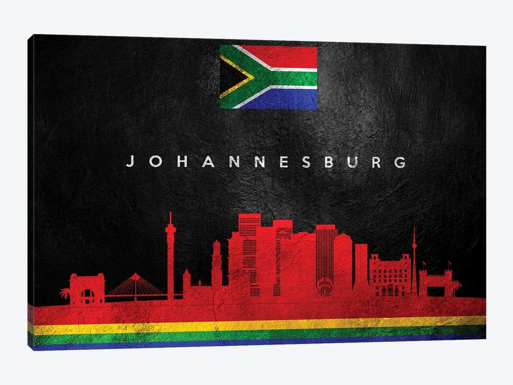 Johannesburg South Africa Skyline by Adrian Baldovino 1-piece Canvas Print