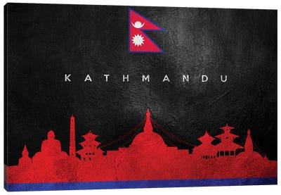 Kathmandu Nepal Skyline Canvas Art Print