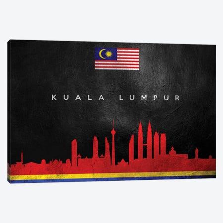 Kuala Lumpur Malaysia Skyline Canvas Print #ABV239} by Adrian Baldovino Canvas Artwork