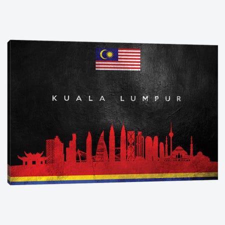 Kuala Lumpur Malaysia Skyline II Canvas Print #ABV240} by Adrian Baldovino Canvas Print
