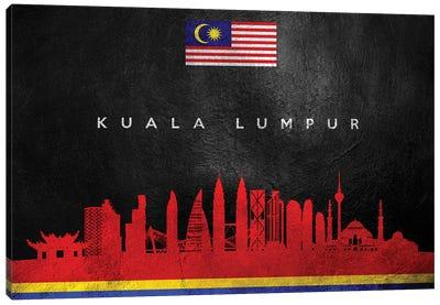 Kuala Lumpur Malaysia Skyline II Canvas Art Print