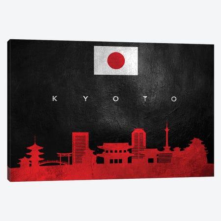 Kyoto Japan Skyline Canvas Print #ABV243} by Adrian Baldovino Canvas Print