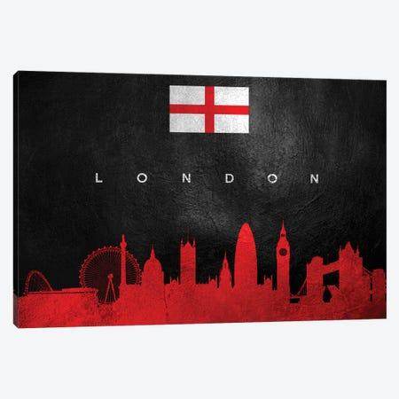 London England Skyline II Canvas Print #ABV250} by Adrian Baldovino Canvas Wall Art