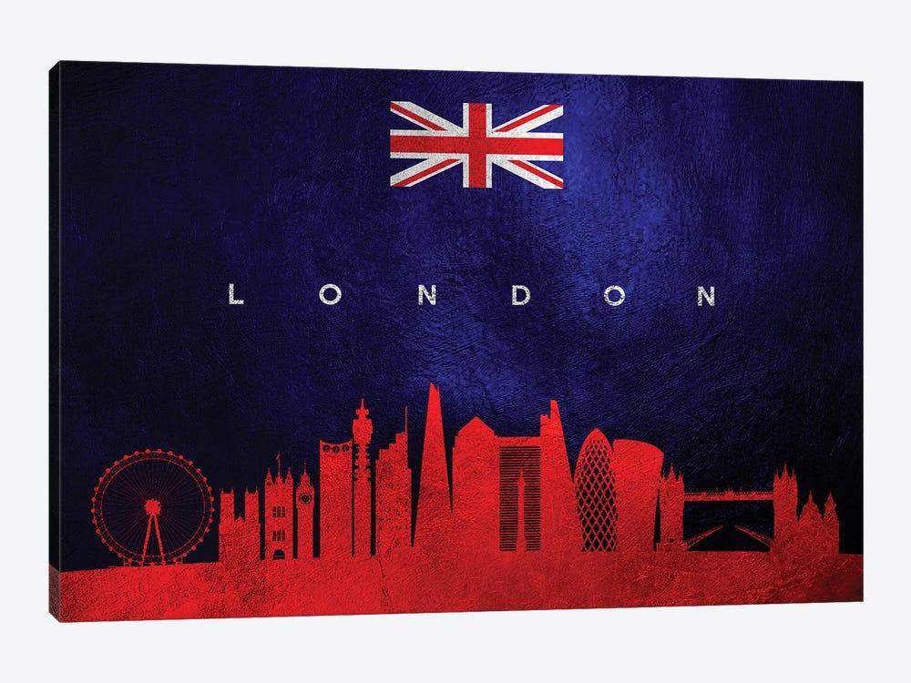London United Kingdom Skyline by Adrian Baldovino 1-piece Art Print