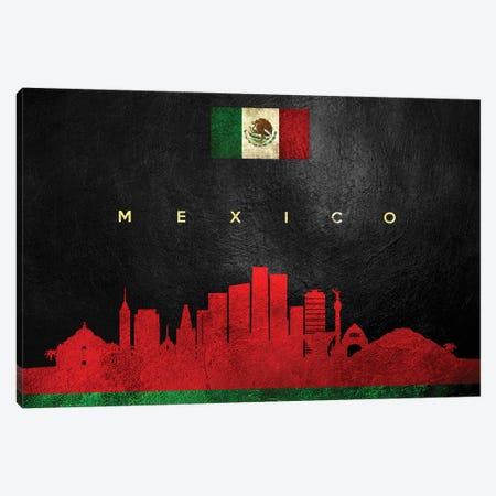 Mexico Skyline Canvas Print #ABV266} by Adrian Baldovino Canvas Art