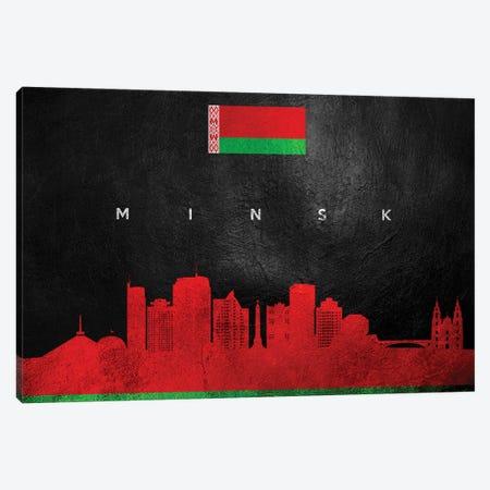 Minsk Belarus Skyline Canvas Print #ABV268} by Adrian Baldovino Canvas Art Print
