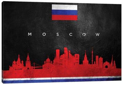 Moscow Russia Skyline II Canvas Art Print