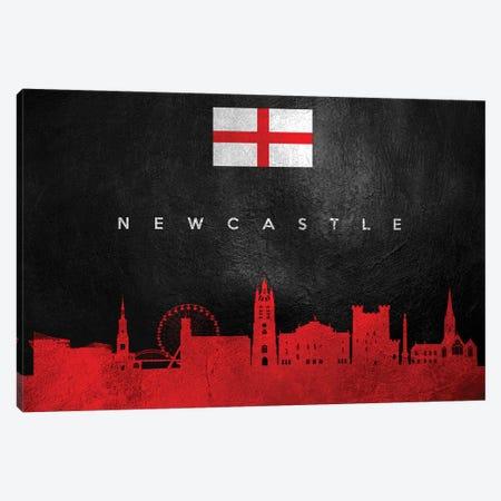 Newcastle England Skyline Canvas Print #ABV277} by Adrian Baldovino Canvas Print