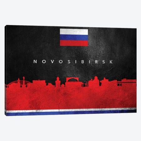 Novosibirsk Russia Skyline Canvas Print #ABV281} by Adrian Baldovino Canvas Print
