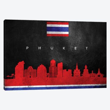 Phuket Thailand Skyline Canvas Print #ABV284} by Adrian Baldovino Canvas Wall Art