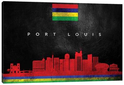 Port Louis Mauritius Skyline Canvas Art Print