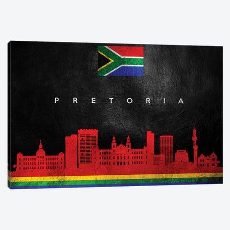Pretoria South Africa Skyline Canvas Print #ABV290} by Adrian Baldovino Canvas Wall Art
