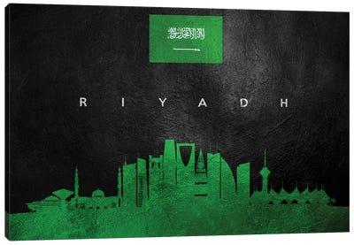 Riyadh Saudi Arabia Skyline II Canvas Art Print