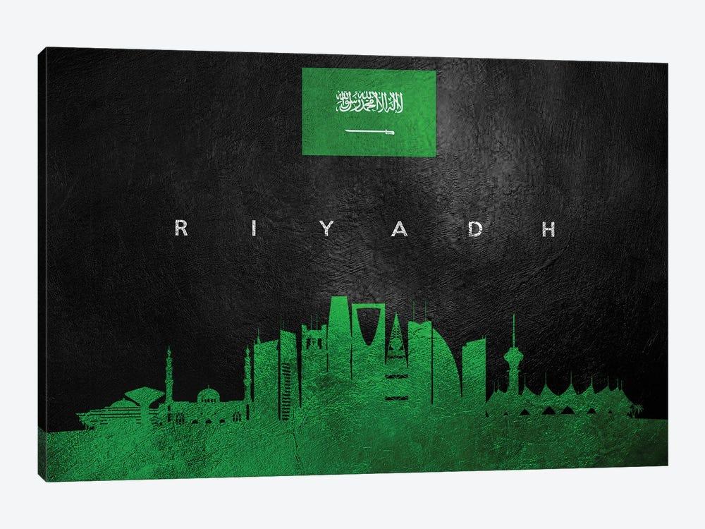 Riyadh Saudi Arabia Skyline II by Adrian Baldovino 1-piece Canvas Wall Art