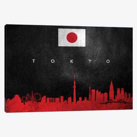 Tokyo Japan Skyline Canvas Print #ABV314} by Adrian Baldovino Canvas Artwork