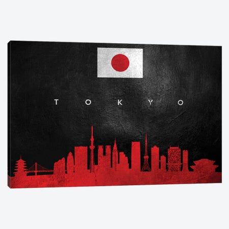 Tokyo Japan Skyline II Canvas Print #ABV315} by Adrian Baldovino Canvas Art