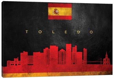 Toledo Spain Skyline Canvas Art Print