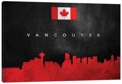Vancouver Canada Skyline Canvas Art Print
