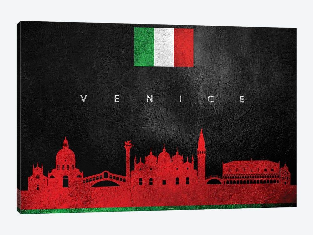 Venice Italy Skyline by Adrian Baldovino 1-piece Canvas Print