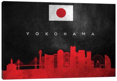 Yokohama Japan Skyline Canvas Art Print