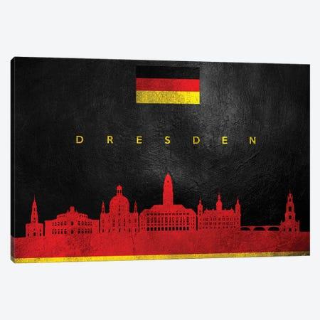 Dresden Germany Skyline Canvas Print #ABV32} by Adrian Baldovino Canvas Print