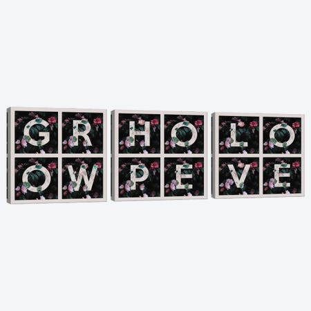 Grow Hope Love Canvas Print Set #ABV3HSET001} by Adrian Baldovino Canvas Print