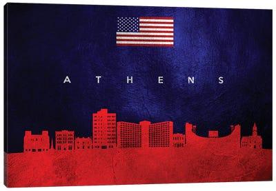 Athens Georgia Skyline Canvas Art Print