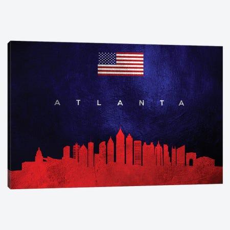 Atlanta Georgia Skyline Canvas Print #ABV413} by Adrian Baldovino Canvas Art