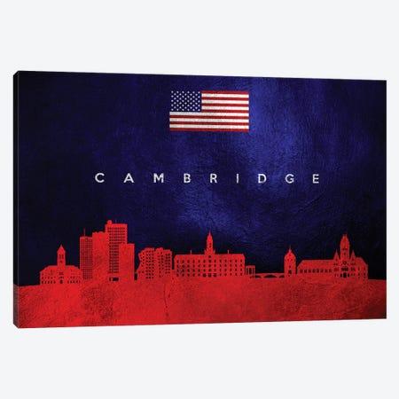 Cambridge Massachusetts Skyline Canvas Print #ABV421} by Adrian Baldovino Canvas Print