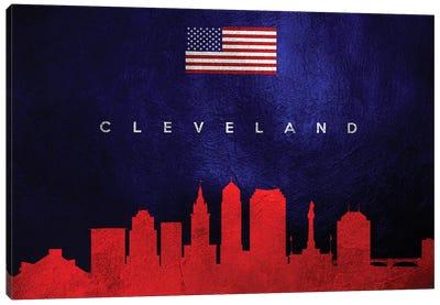 Cleveland Ohio Skyline Canvas Art Print