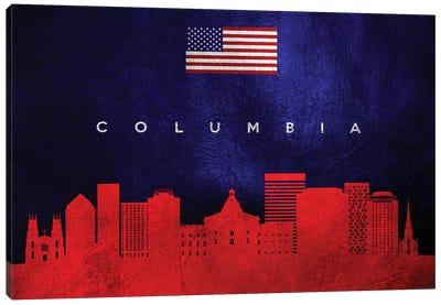 Columbia South Carolina Skyline Canvas Art Print