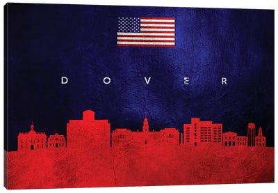 Dover Delaware Skyline Canvas Art Print