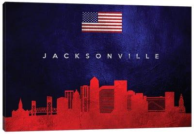 Jacksonville Florida Skyline Canvas Art Print