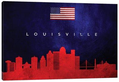 Louisville Kentucky Skyline Canvas Art Print