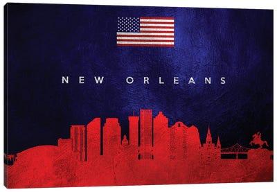 New Orleans Louisiana Skyline Canvas Art Print
