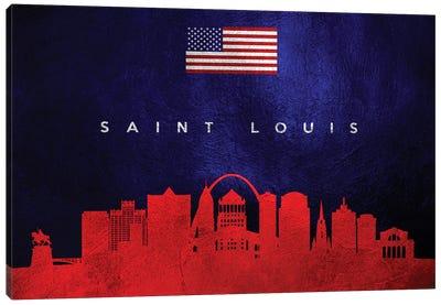 Saint Louis Missouri Skyline Canvas Art Print