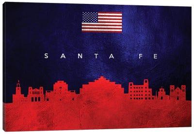 Santa Fe New Mexico Skyline Canvas Art Print