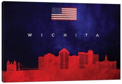 Wichita Kansas Skyline Canvas Art Print