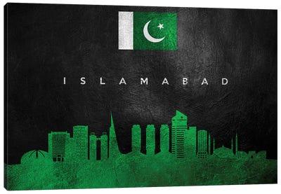 Islamabad Pakistan Skyline Canvas Art Print