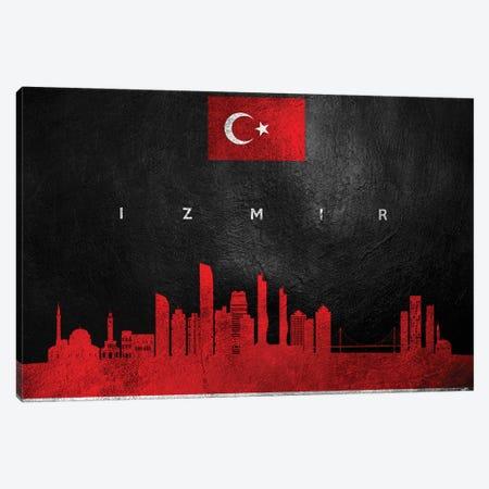 Izmir Turkey Skyline Canvas Print #ABV52} by Adrian Baldovino Canvas Art Print