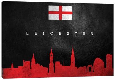 Leicester England Skyline Canvas Art Print