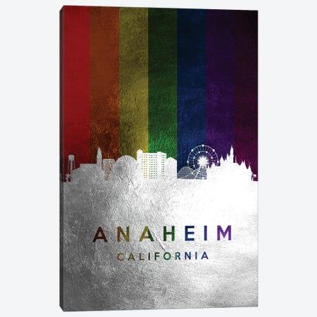 Anaheim California Spectrum Skyline Canvas Print #ABV656} by Adrian Baldovino Canvas Print