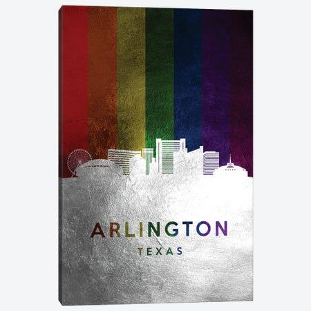 Arlington Texas Spectrum Skyline Canvas Print #ABV659} by Adrian Baldovino Canvas Art